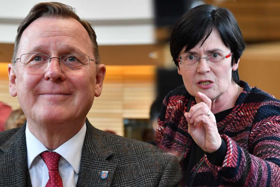 Bodo Ramelow bringt Christine Lieberknecht als Ministerpräsidentin ins Spiel