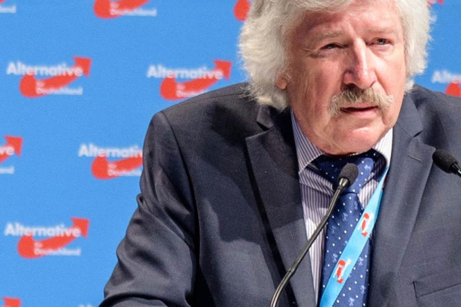 Der hessische AfD-Spitzenkandidat Rainer Rahn (Archivbild) würde gerne einige Parteimitglieder loswerden.
