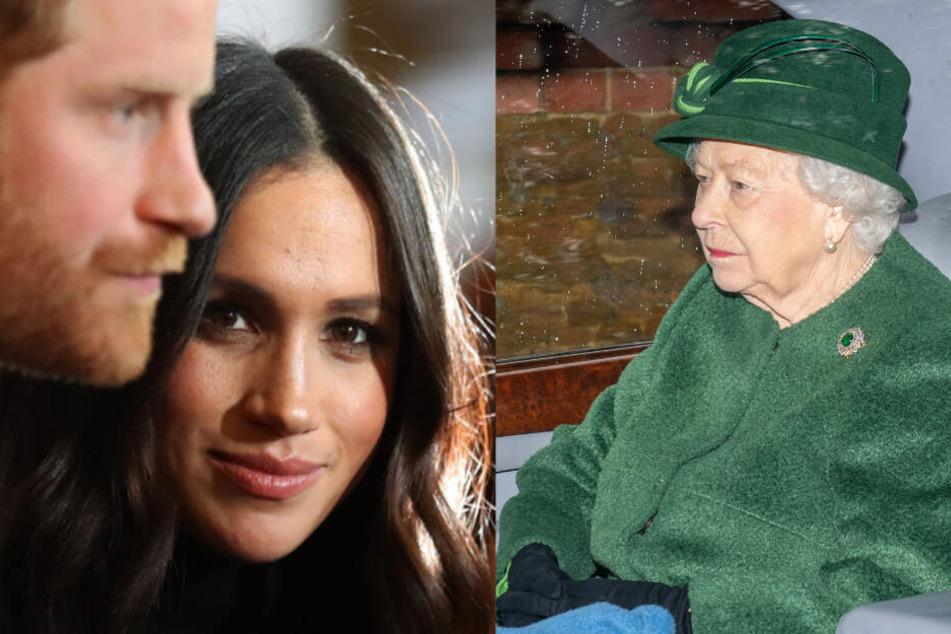 Jetzt wird's ernst bei den Royals: Queen gibt Meghan und Harry 72-Stunden-Frist