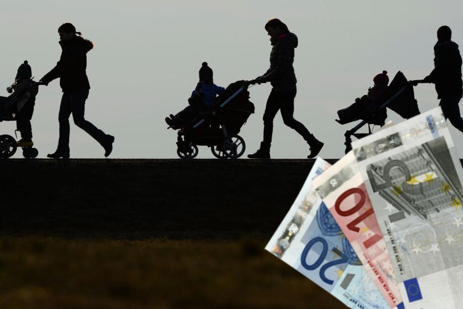 In 2018 wurden insgesamt über 34 Milliarden € Kindergeld überwiesen.