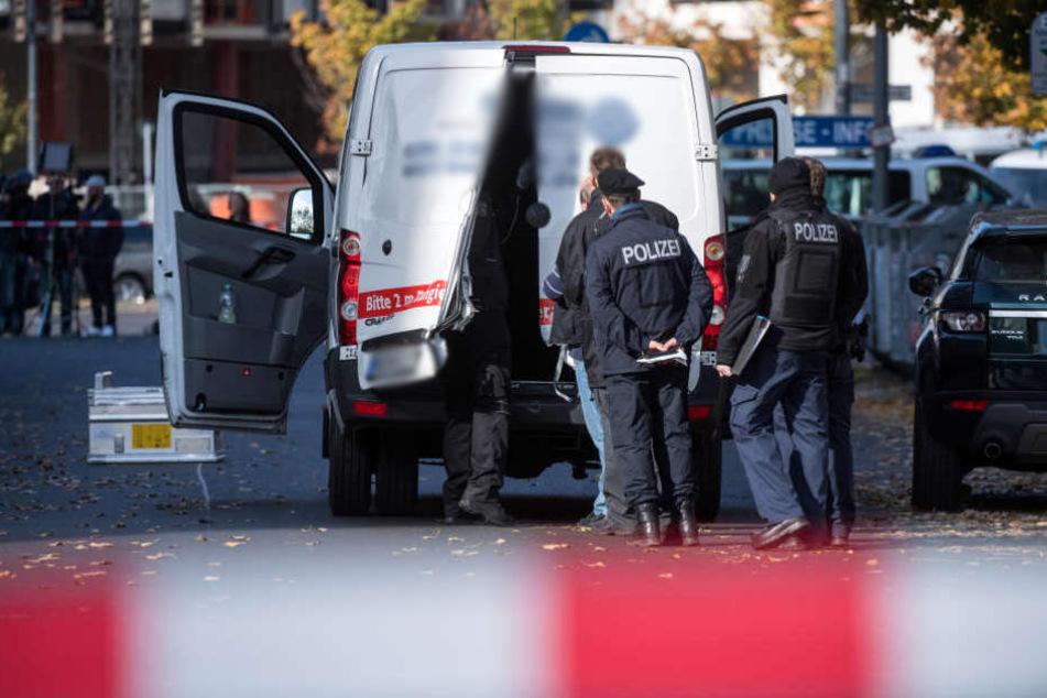 Am 19. Oktober wurde in Berlin ein Geldtransporter überfallen.