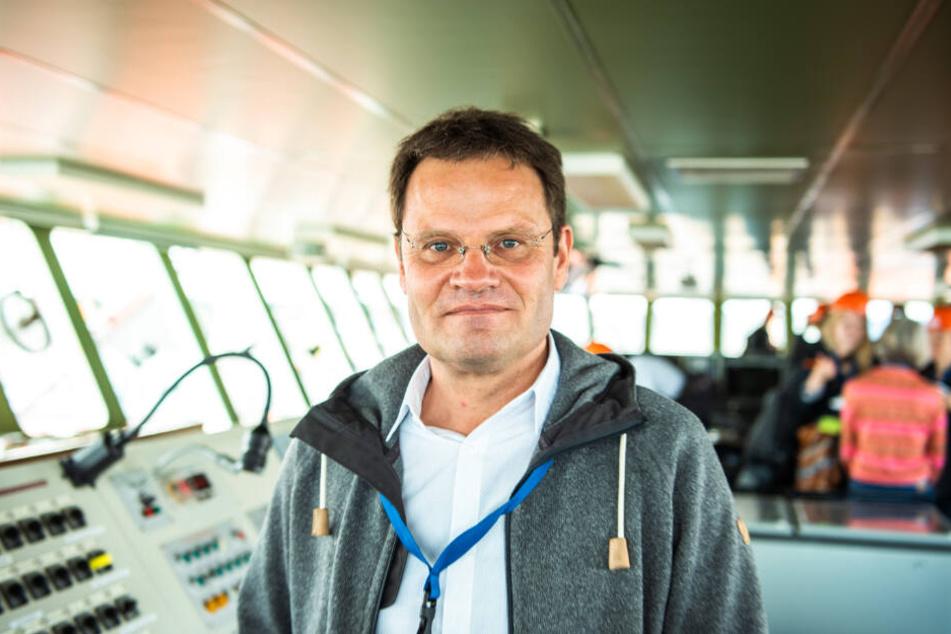 Markus Rex ist mit an Bord, wenn die Polarstern in die Arktis ablegt.