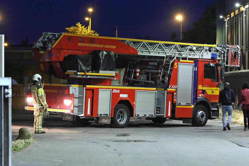 Brand in Asylheim: Bett steht plötzlich in Flammen