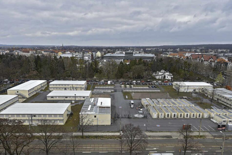 """Das Container-Flüchtlingsdorf in Dresden-Johannstadt wurde bei der Online-Abstimmung zum """"Schleudersachsen 2019"""" gekürt."""