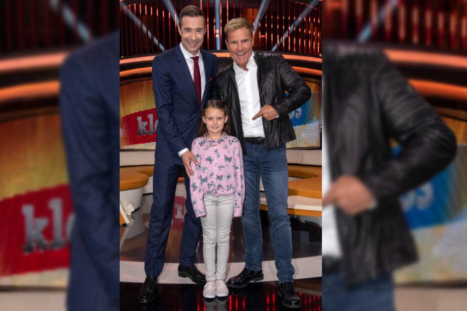 Dieter Bohlen traf in der Sendung von Moderator Kai Pflaume auf die siebenjährige Shayenne.