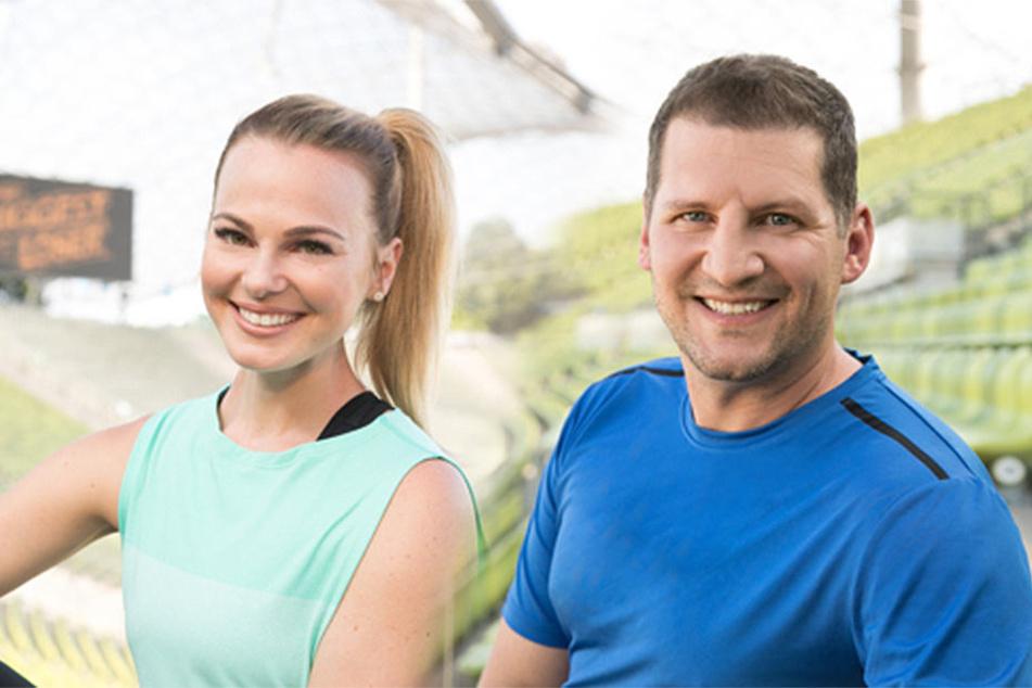 Die Coaches Mareike Spaleck und Ramin Abtin wollen die Kandidaten fit machen.