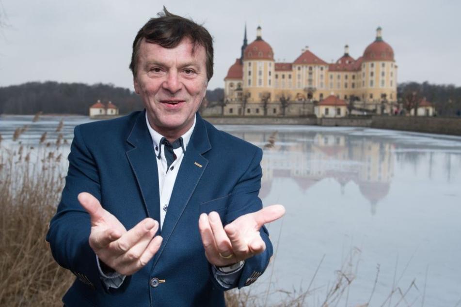 """""""König"""" Pavel Travnicek (67) übt schon fleißig Deutsch für sein Aschenbrödel Comeback."""