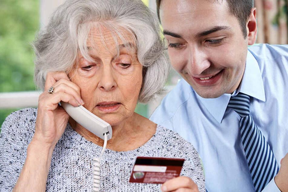 Vor allem alte Leute sind die Opfer der Betrüger.