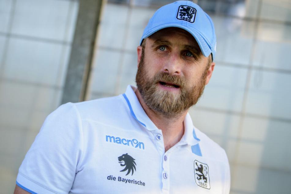 Daniel Bierofka und der TSV 1860 München konnten gegen den FSV Zwickau drei Punkte verbuchen.