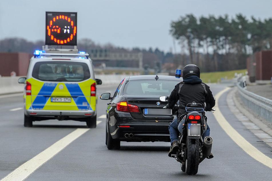 Um 15 Uhr gab die Polizei die A33 für den Verkehr frei.