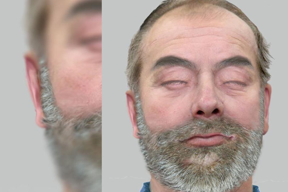 Wer kennt diesen Mann. Seine Leiche wurde im Rhein gefunden.