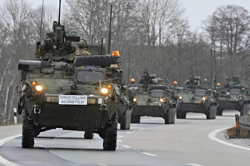 Die US-Army verlegt mehr als 4000 Soldaten an die osteuropäische Grenze (Symbolbild).
