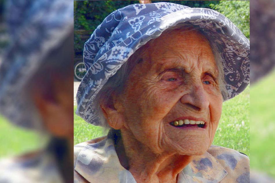 Elisabeth Tränkner ist 112 Jahre alt.