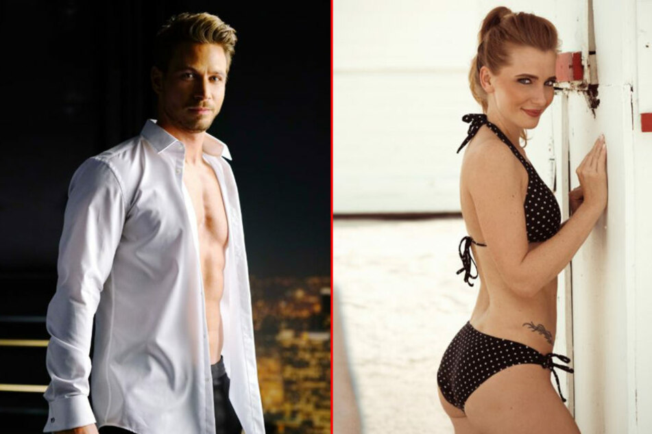 Model Sebastian (30) ist in diesem Jahr der heiß umkämpfte Bachelor. Er  vergab gestern eine Rose an Chemnitzerin Caroline (28).