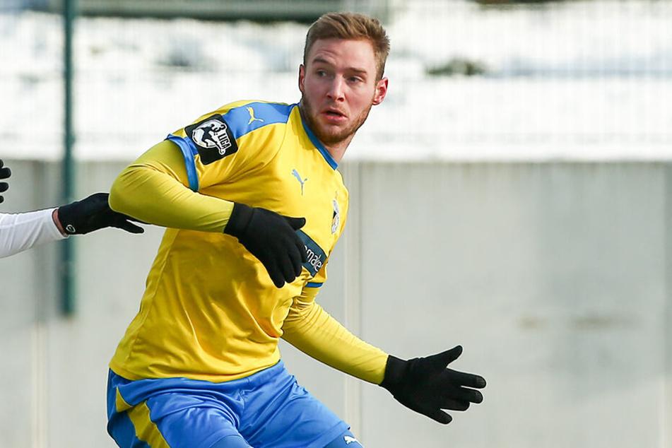 Felix Brügmann erzielte zwei Tore für Jena.