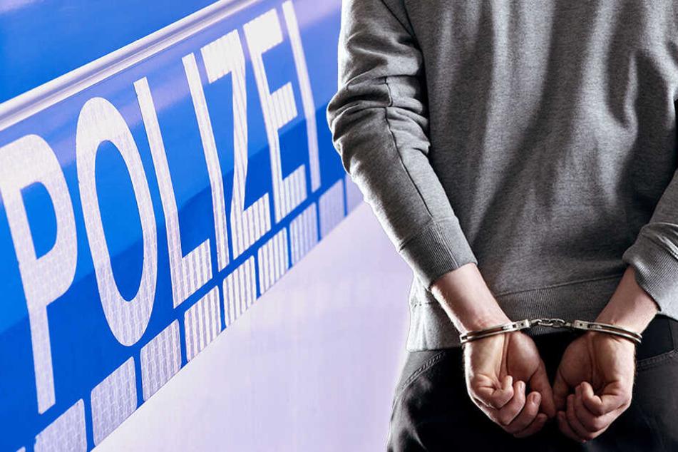 Chemnitz: Er machte sich gerade an einer Tür zu schaffen: Einbrecher auf frischer Tat erwischt