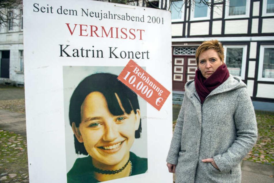 """Den Fall der vermissten Katrin Konert hat die Polizei kürzlich neu aufgerollt. Annegret Dau-Rödel leitet die Ermittlungsgruppe """"Konert""""."""
