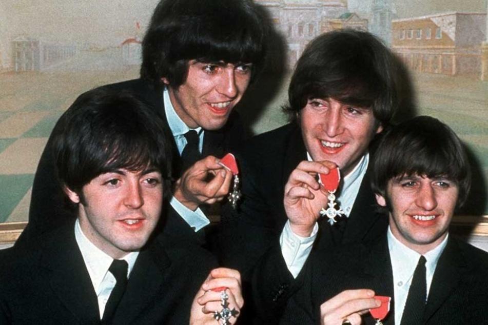 John Lennon (2.v.r.) wurde 1980 in New York erschossen.