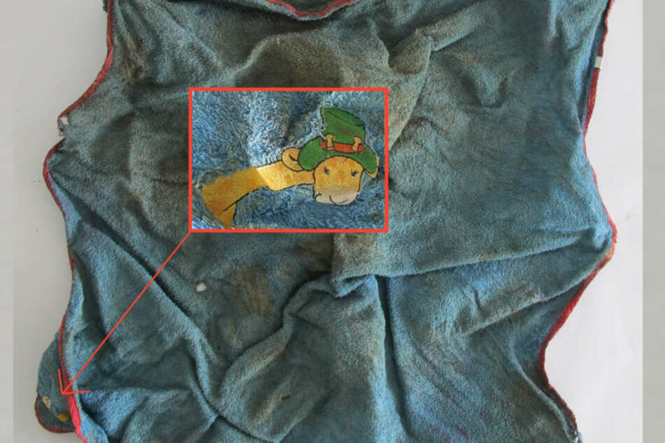 In diese Handtücher war das tote Baby eingewickelt