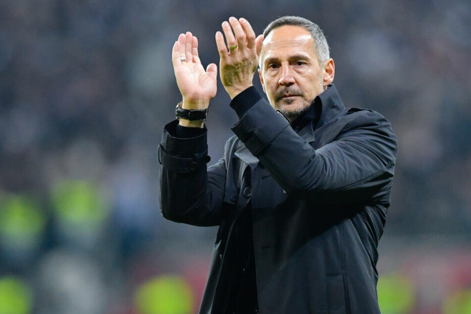 Lobte seine Jungs nach dem Sieg gegen Donezk über alle Maßen: Eintracht-Coach Adi Hütter.