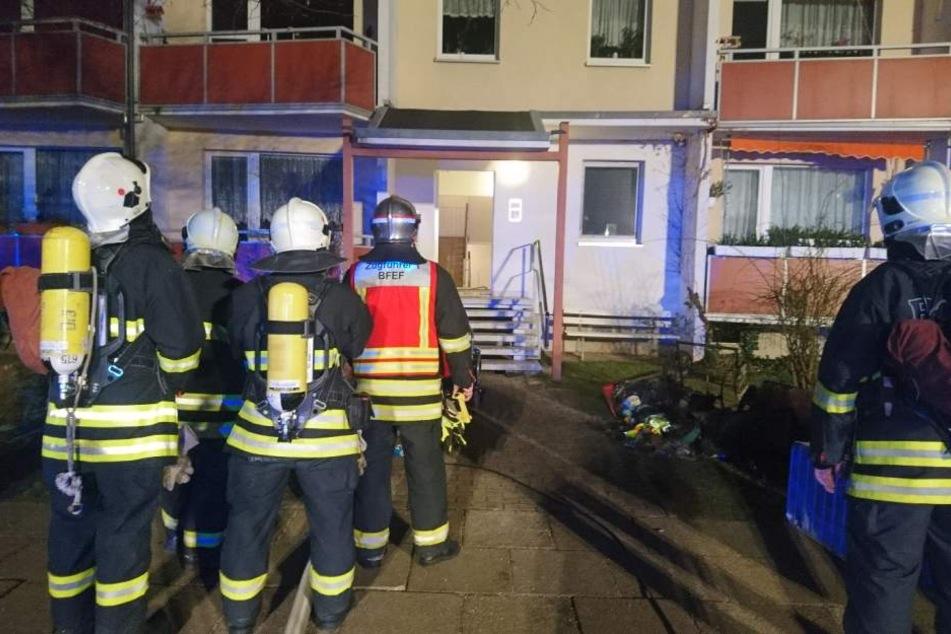 Schon wieder musste die Feuerwehr zum Keller ausrücken.