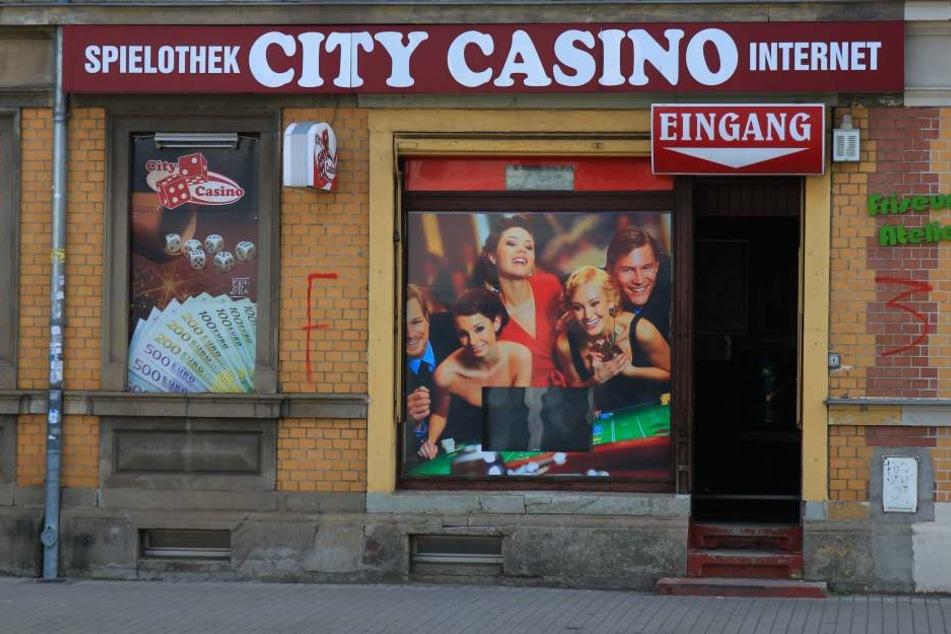 """In der Nacht zum Freitag wurde im """"City Casino"""" eingebrochen."""