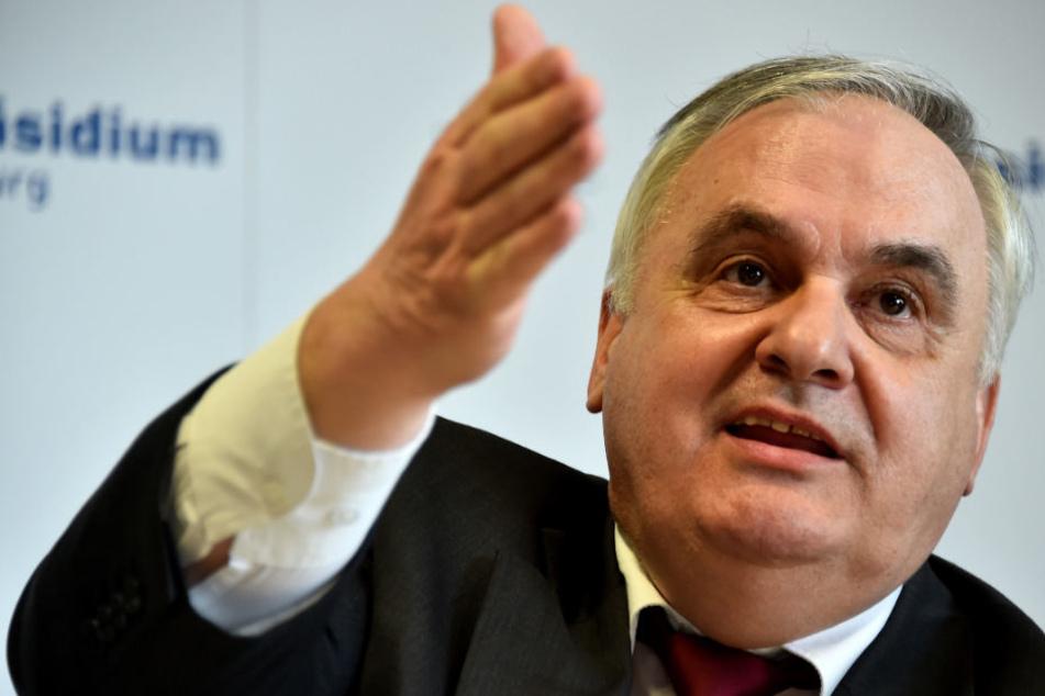 Brandenburgs Polizeipräsident Hans-Jürgen Mörke bereitet der Anstieg Sorgen.