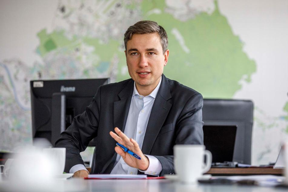 Will schnellstmöglich für rechtskonforme Zustände sorgen: Baubürgermeister Stephan Kühn (41, Grüne).