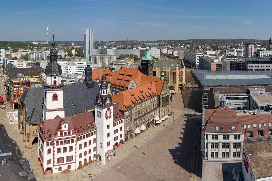 Im EU-Altersranking ganz oben: die Stadt Chemnitz.
