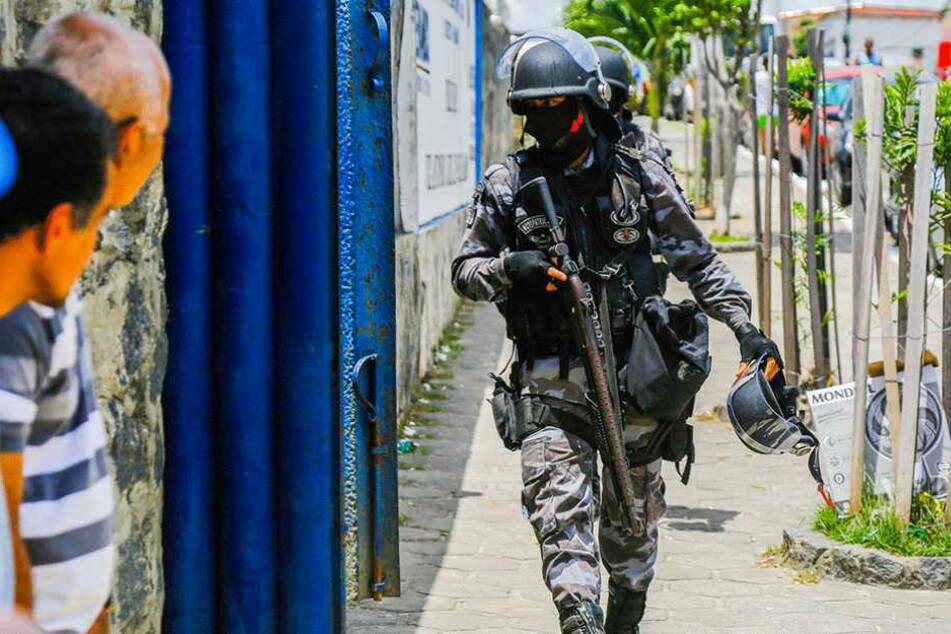 Fast 24 Stunden brauchten die Sicherheitskräfte, um die Lage wieder unter Kontrolle zu bringen (Archivfoto).