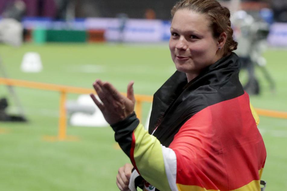 Revanche nach EM-Silber: Christina Schwanitz siegt bei Diamond League