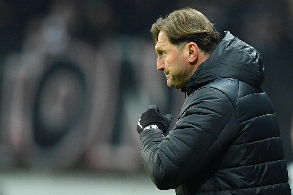 RB-Trainer Ralph Hasenhüttl hat ein deutliches Signal in Richtung Vereinsführung gesendet.