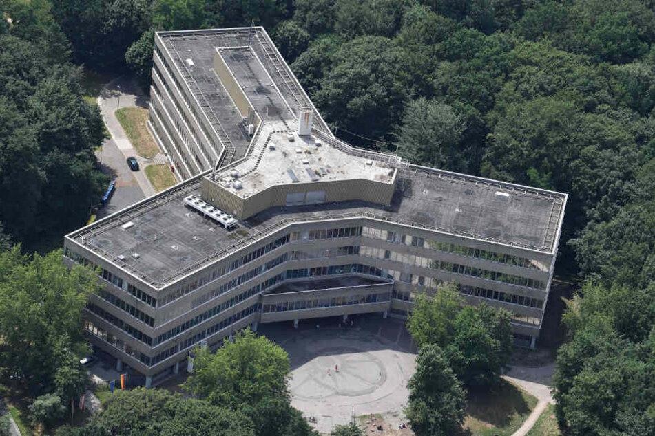 Luftaufnahme des Bamf in Bremen