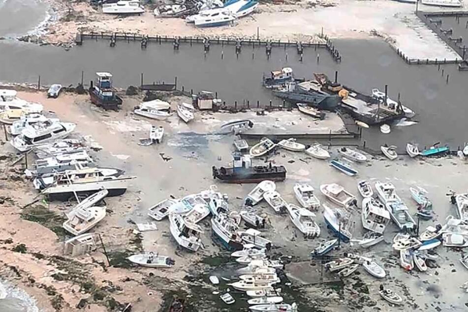 """""""Dorian"""" hat auf den Bahamas schwere Schäden angerichtet."""