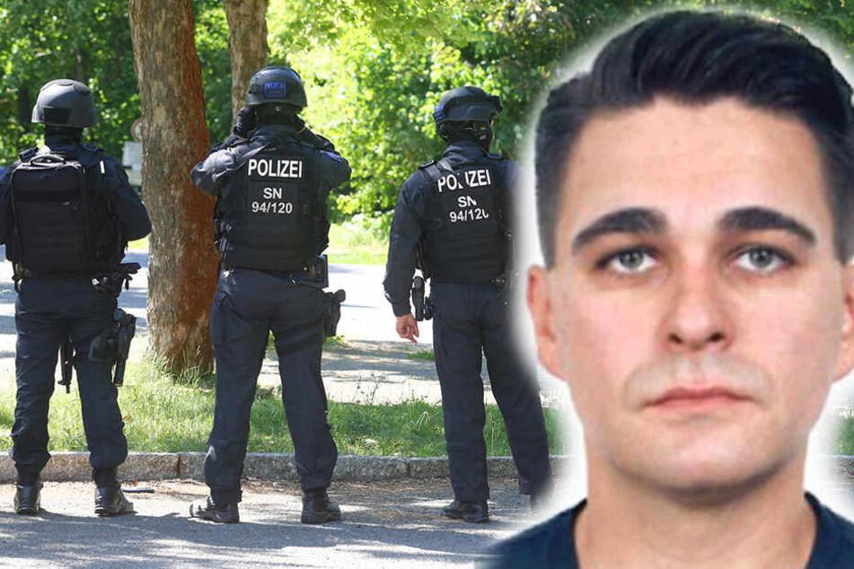 Am Montagabend wurde Robert K. nach einem Großeinsatz der Polizei in einem alten Gebäude bei Königsbrück tot aufgefunden. Offenbar hatte er sich selbst gerichtet.