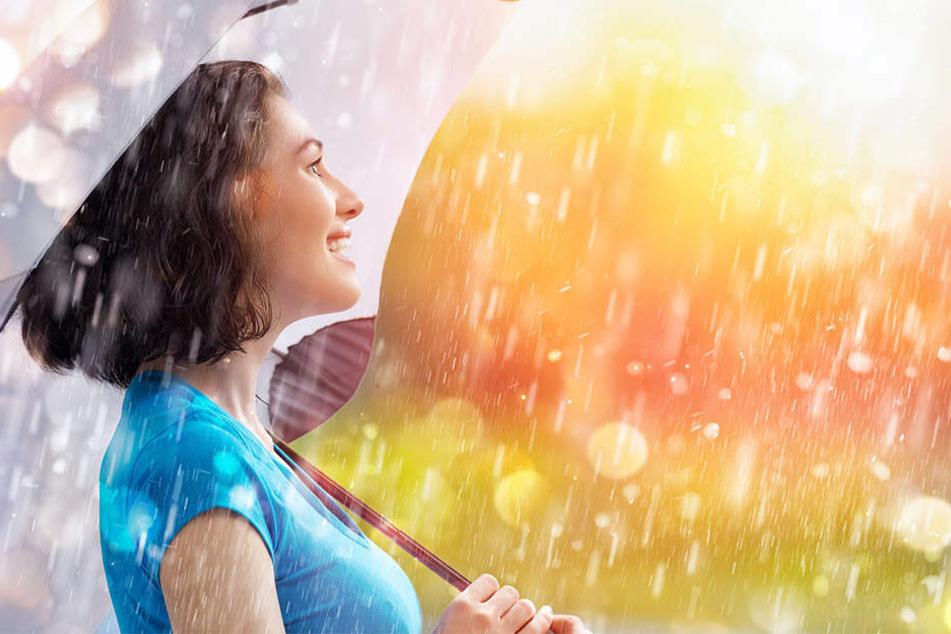 Wenn es draußen regnet, setzen sich anscheinend viele mit einem guten Buch oder Film ins gemütliche Zuhause.