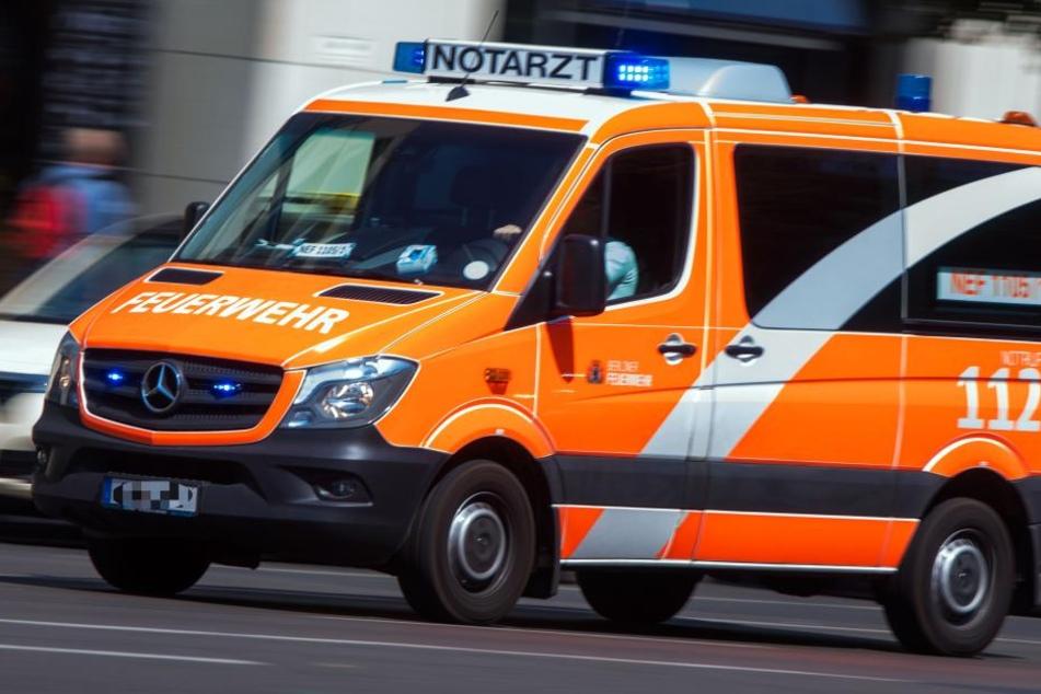Die Frau war nach dem Unfall in eine Spezialklinik gebracht worden (Symbolbild).