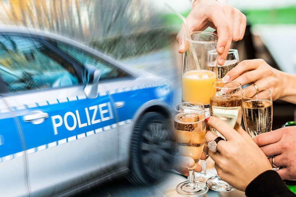 Weihnachtsfeier endet mit Polizeieinsatz
