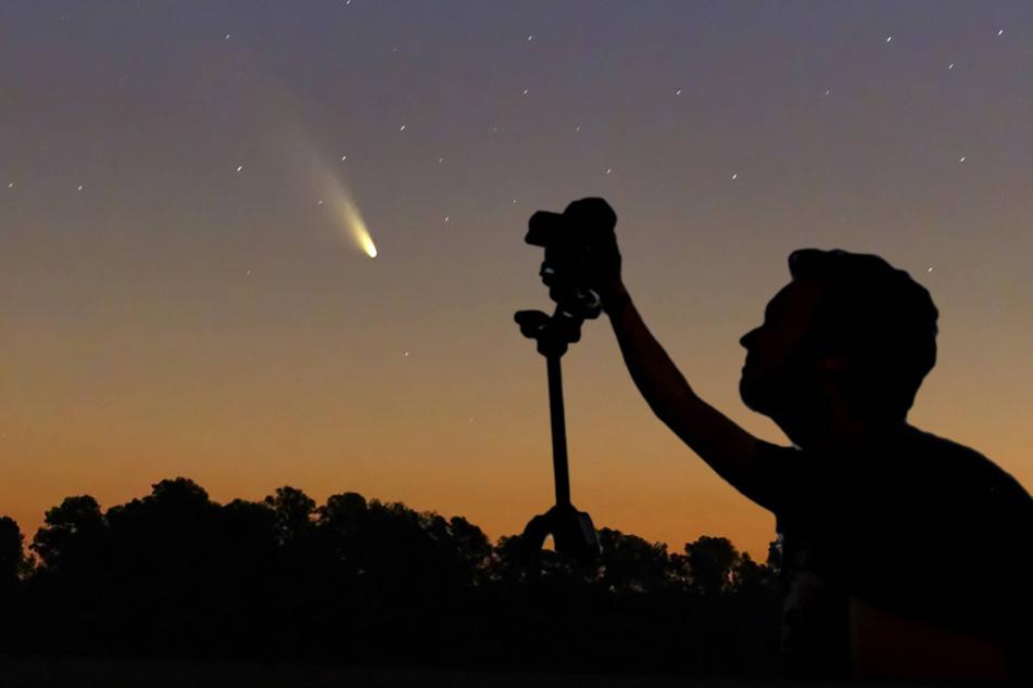 In der Nacht zu Sonnabend werden stündlich bis zu 20 Sternschnuppen erwartet.
