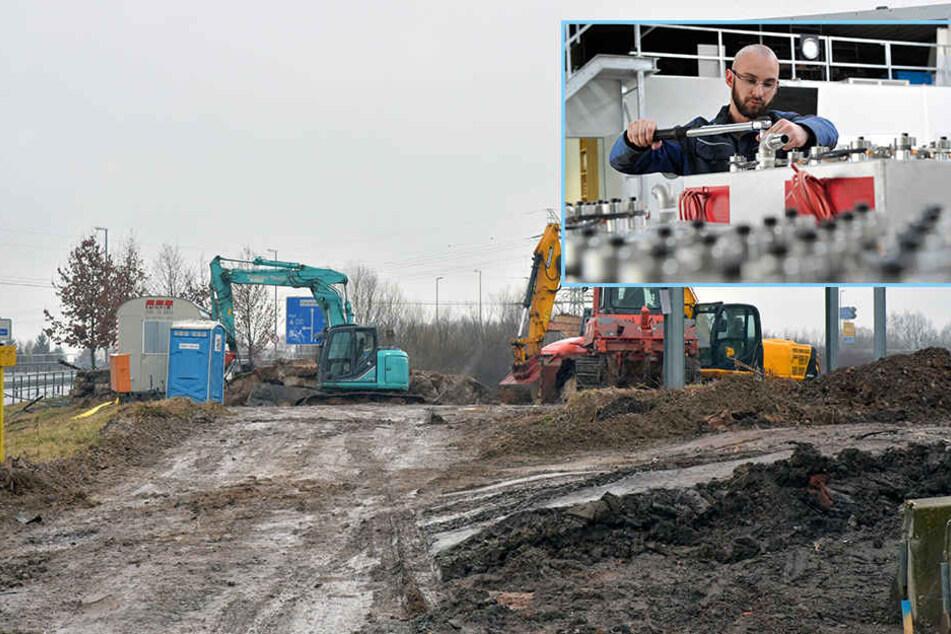 Aufschwung Ost: Gewerbegebiete platzen aus allen Nähten