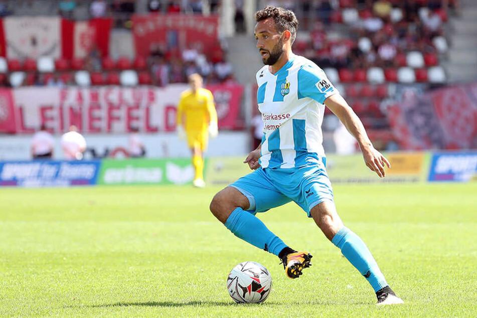 Seit einem halben Jahr nicht mehr im Kader, aber immer noch dicke auf der Gehaltsliste: Fabian Müller.