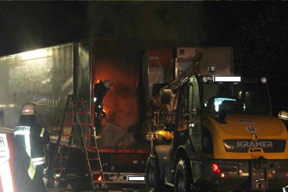Die Brandursache konnte bislang nicht ermittelt werden.