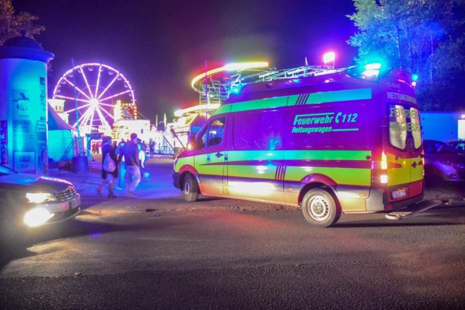 Auf der Herbstmesse in Magdeburg soll es zu einer versuchten Vergewaltigung gekommen sein.