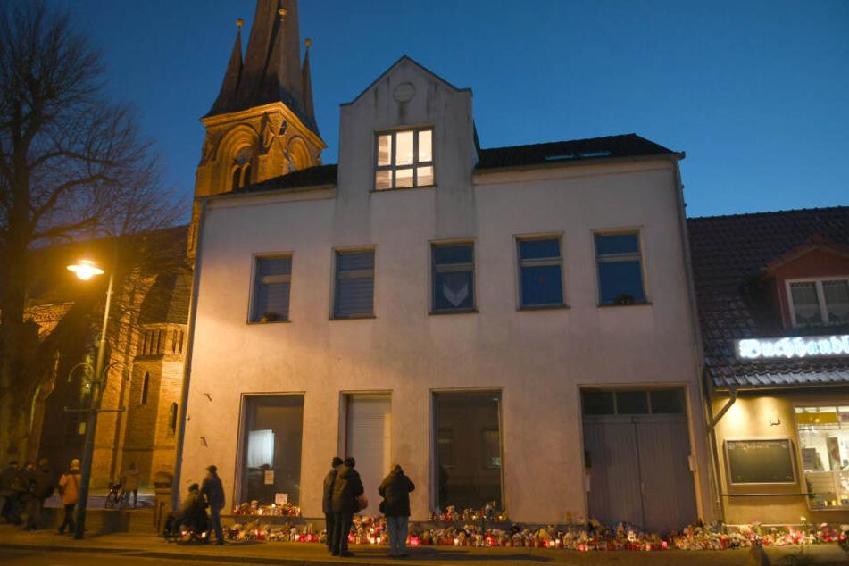 Ort der Trauer: Die Christus-Kirche in Torgelow.