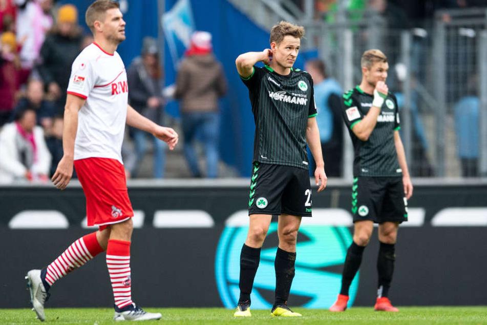 Greuther Fürth hatte keine Chance gegen den FC um Doppelpacker Simon Terodde (30)