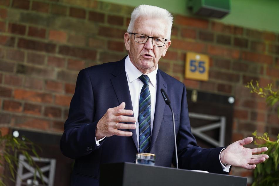 Winfried Kretschmann (73), Baden-Württembergs Ministerpräsident.