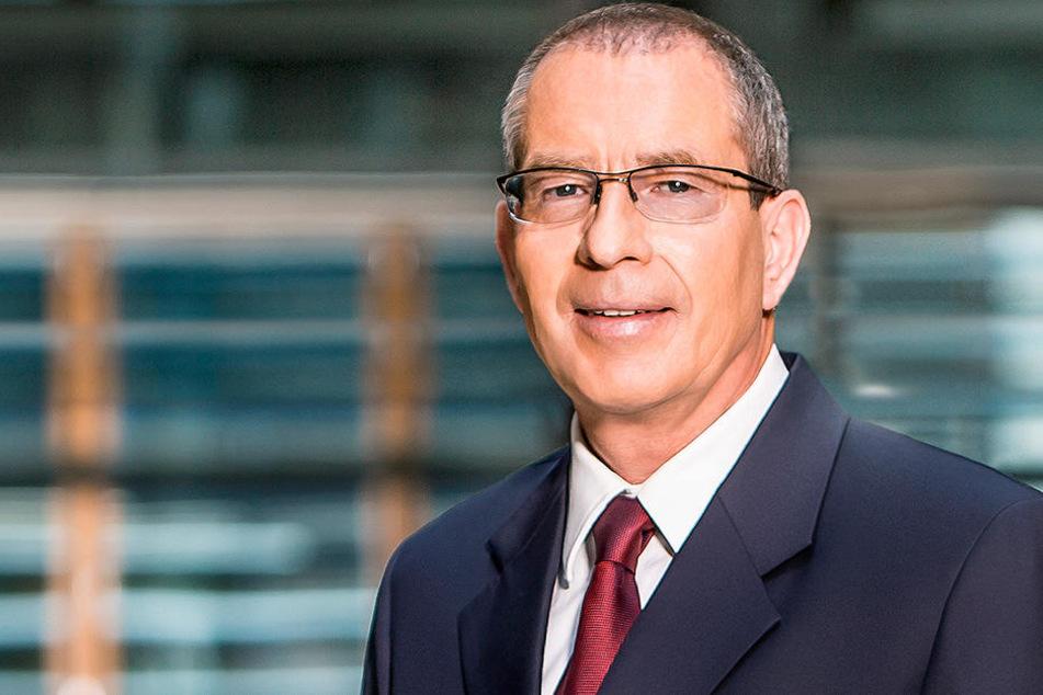 """""""Bericht aus Berlin""""-Moderator Thomas Baumann."""