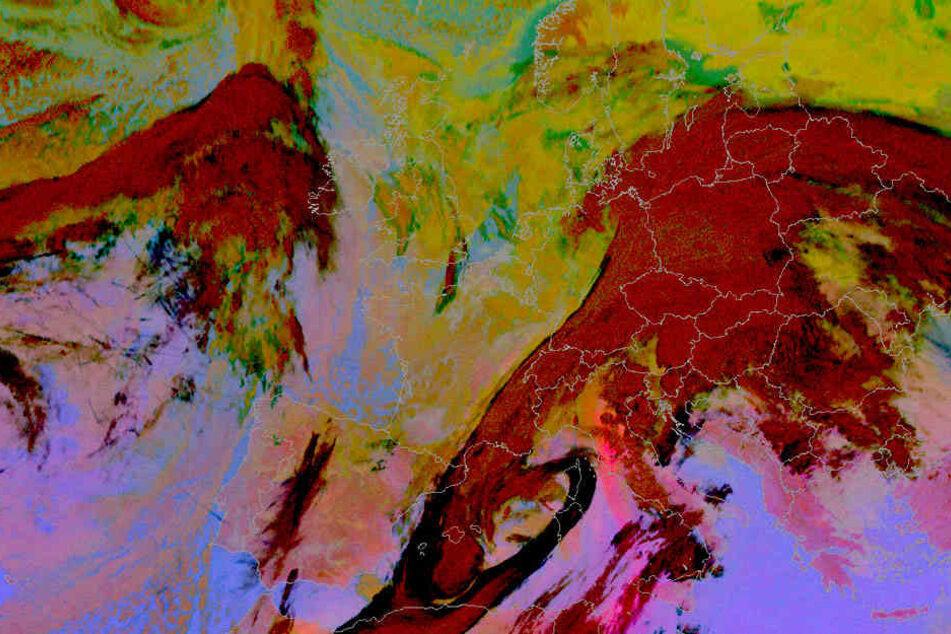 2014 hüllten Wüstenwinde halb Europa ein. In ihrem Staub versteckt sich eine schleichende Gefahr.