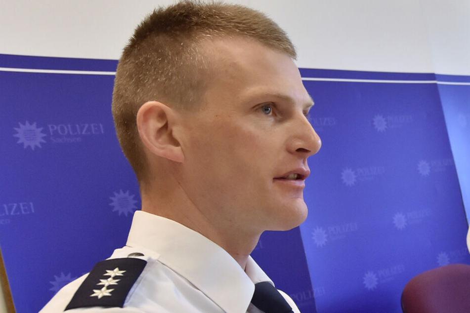 Polizeisprecher Oliver Wurdak.