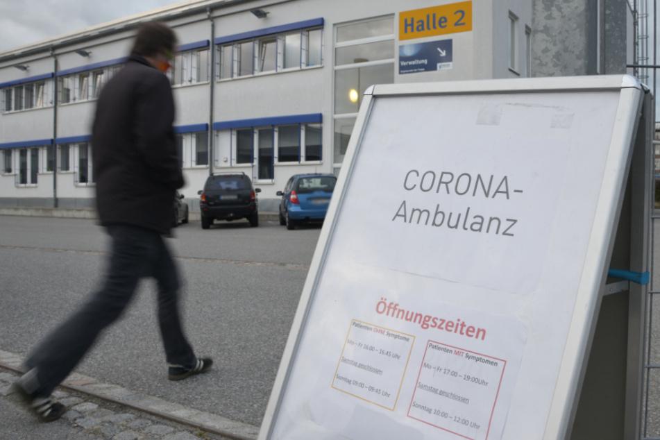 Bisher war die Corona-Ambulanz in der Messehalle 2.